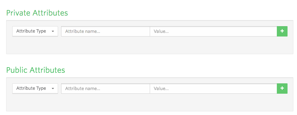 Private Attributes and Public attributes in the Vidyard Dashboard