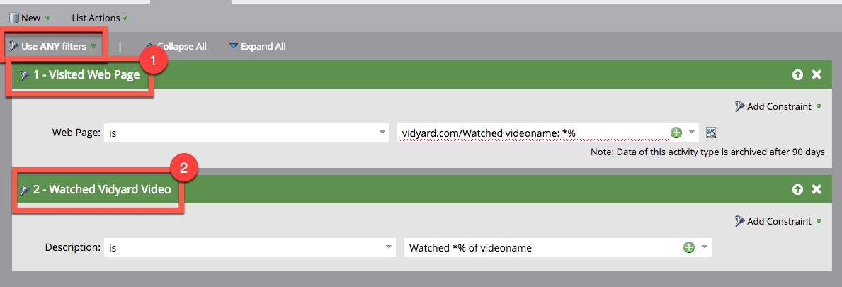 Example of how to use Vidyard triggers via the old Marketo integration