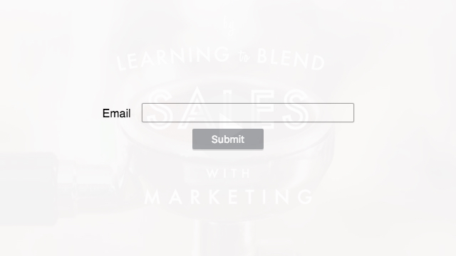 Vidyard player with a form overlaid requiring an email address.