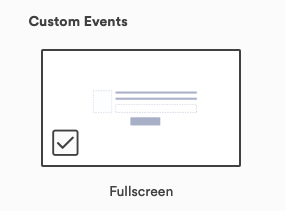 Fullscreen option