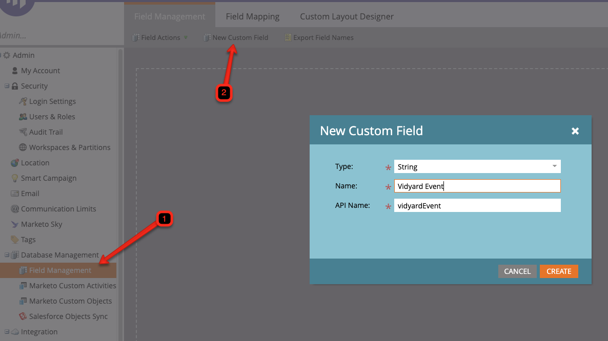 Custom Field in Marketo