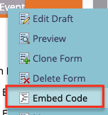 Form ID and Server Dialog